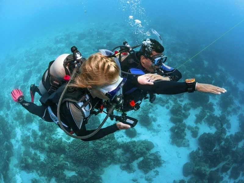 Formation: AOWD (Advanced Open Water Diver)
